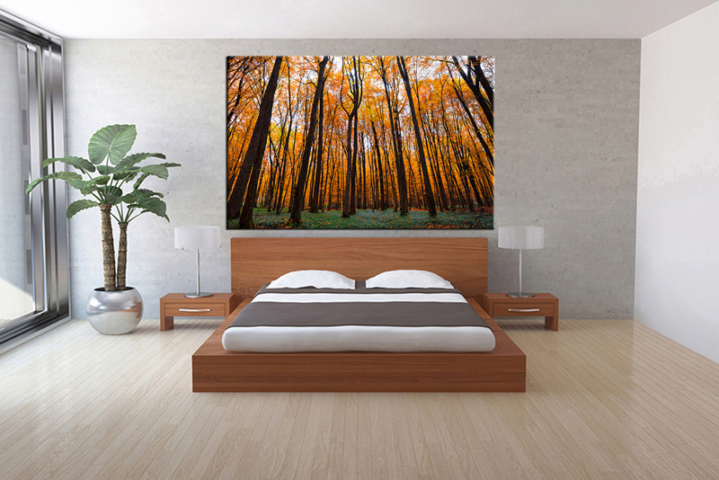 1 piece canvas print bedroom canvas photography tree scenery pictures scenery canvas art