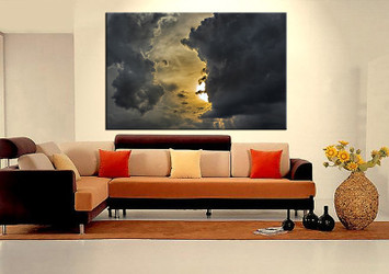 1 piece huge pictures, living room wall art, scenery canvas art prints, scenery artwork, scenery decor