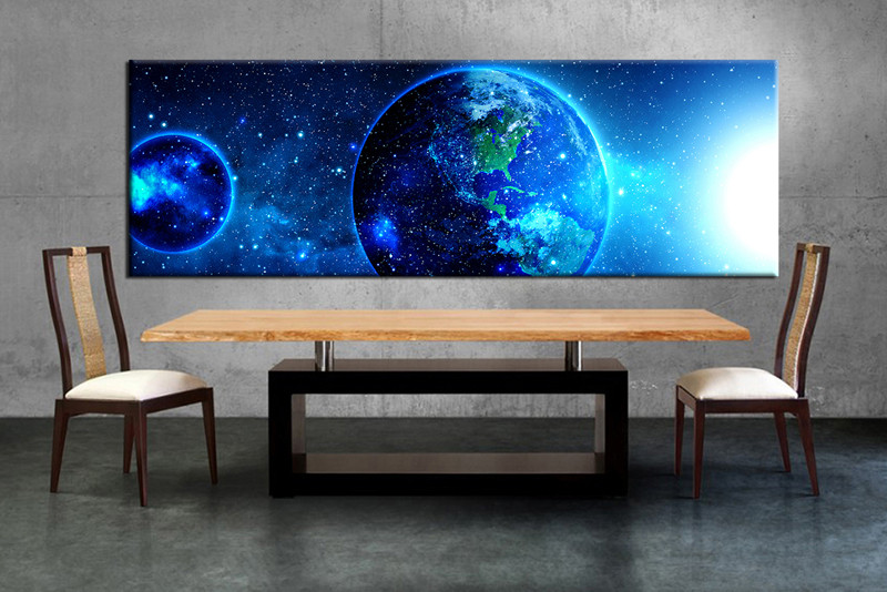 1 Piece Large Canvas Dining Room Wall Art Modern Artwork Huge