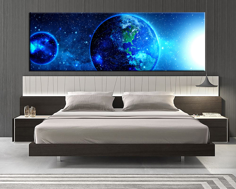 1 Piece Large Pictures Modern Art Bedroom Wall Photo Canvas