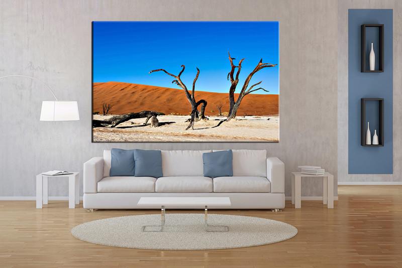 Living Room Art 1 Piece Canvas Wall Landscape Decor Artwork