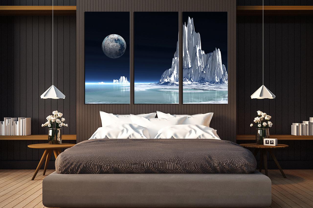3 piece group canvas bedroom art landscape canvas art prints white large pictures