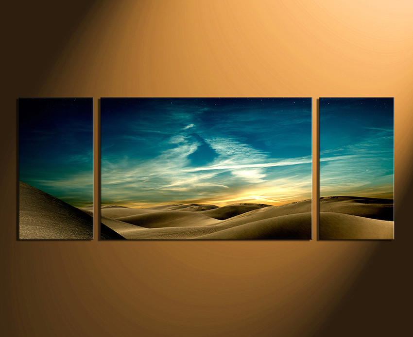 3 piece canvas print landscape multi panel art green canvas art
