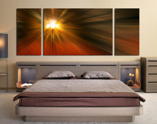 3 piece large pictures, modern huge pictures, orange abstract canvas wall art, bedroom wall art