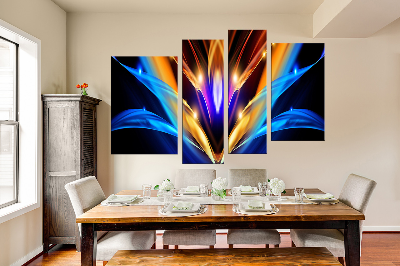 piece canvas wall art dining room wall art modern wall art abstract.  piece group canvas abstract canvas art prints colorful large