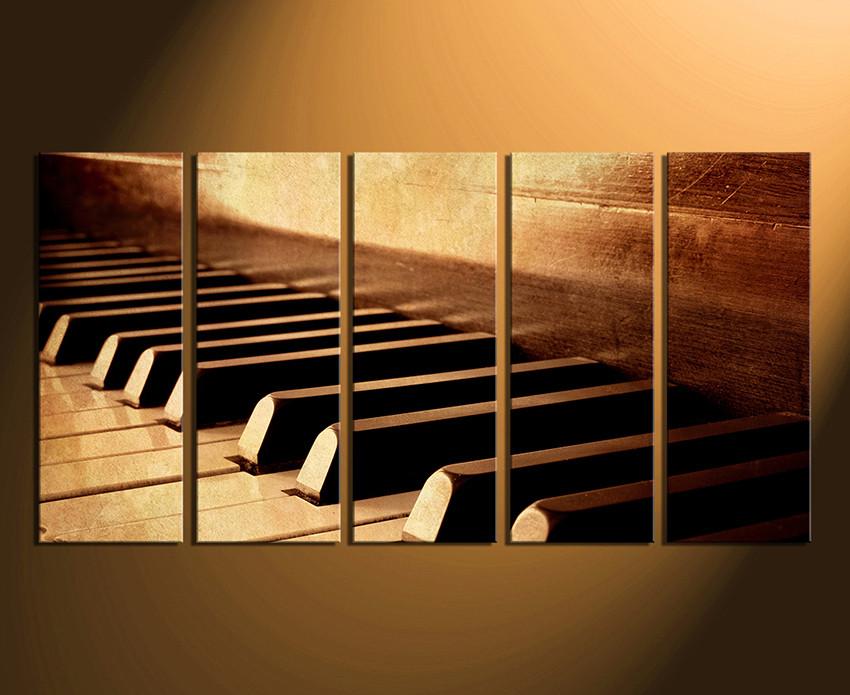 Piano Music Wall Decor : Inspiration piano wall art of