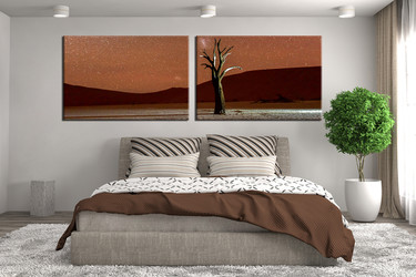 bedroom decor, 2 piece wall art, mountain group canvas, landscape canvas art prints, landscape wall art