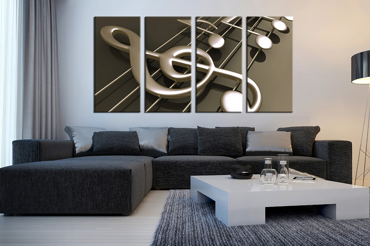 large music notes printable
