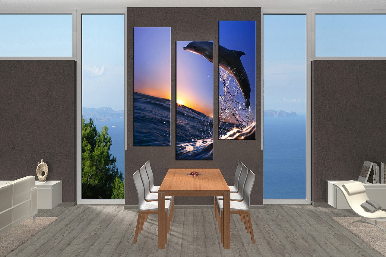 Water Wall Decor waterwall in my bedroom Wildlife Pictures Dining Room Wall Decor 3 Piece Wall Art Wild Multi Panel