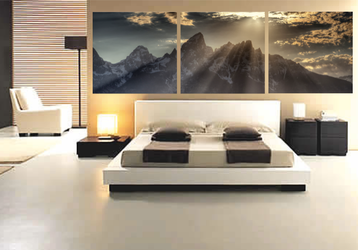 3 piece large canvas, bedroom canvas photography, landscape canvas print, landscape photo canvas, mountain group canvas