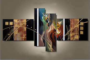 4 piece canvas photography, home decor, abstract huge canvas art, colorful photo canvas, oil painting wall decor
