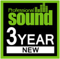 Professional Sound - 3 Year Subscription (New)
