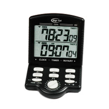 Digi 1st J-950 Jumbo Dual Display Calendar Clock Count Up/Down Desk Timer
