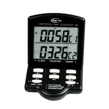 Digi 1st J-955 Jumbo Dual Display Calendar Clock Countdown Timer/Tally Desk Counter