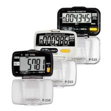 Digi 1st Dual Step Pedometer with Activity Timer. Switches between step and activity time records simply by pressing one button. Buy this highly accurate pedometer in bulk with your logo imprinted. Bulk pricing as low as $5.30 per unit.