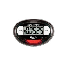 Digi 1st P-110 Dual Step Pedometer. Simple step counters record cumulative steps and daily steps with easy one-button operation. Buy custom pedometers in bulk with our great discounted bulk prices now!
