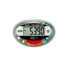 Digi 1st P-120 Step Pedometer with Activity Timer. With simple one-button operation, you can switch to view your step records and activity time. Buy custom pedometers in bulk with our great discounted bulk prices now!
