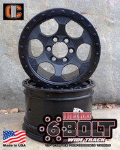 "2.2""; 1.50"" Width; 6 Bolt Wheel Pair"