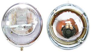 """356 """"Hella"""", NOS, German, Head Light Bucket Assembly"""