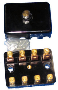 911 4 Pole Ceramic Style Fuse Box 1969 Only