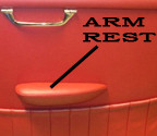 Armrest Cover, 356C Coupe & Cabriolet, Leather, L/R