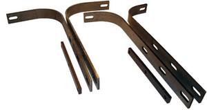 Bumper Bracket Set, 356A, Front, Set