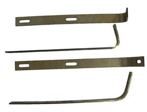 Bumper Bracket Set, Front. Fits 356B & C.