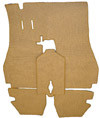 Carpet Set Suppliment, W/Out Mat, Front Only, 911 '69-'73