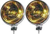 Fog Light Speedster & 356A, 356B, 356C, 912, 911,142mm W/H3 Bulb,12v