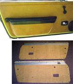 Porsche 914 Door Panel Kit, 914 '69-'76, Choose Color