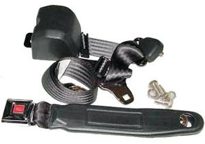Porsche 914 Seat Belt, Pair, 3 Point W/Hardware, Porsche 914