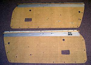 Porsche 914, Door Panel Boards, Masonite, Pair, All 914