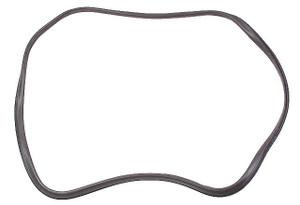 Porsche Back Glass Seal w/ Trim Frame Groove, OEM, 911 & 912