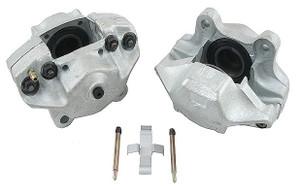 Porsche Disc Brake Caliper, Front Left, Remanufactured, ATE, Solid Rotors, M Series