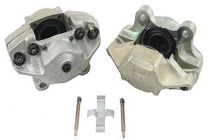 Porsche Disc Brake Caliper, Front Right, Remanufactured, Solid Rotors, M Series