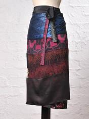 Star Burst Wrap Skirt