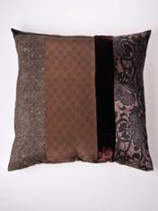 Chocolate Honeycomb Cushion