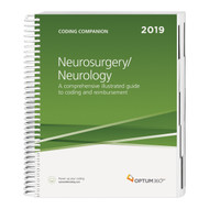 Consolidate the coding process with the Coding Companion, your one-stop coding resource developed exclusively for neurosurgery and neurology. This comprehensive and easy-to-use guide is updated for 2019 and organized by specialty-specific CPT® codes. Each CPT® code includes its official description and lay description, coding tip, Medicare edits, relative value units and is cross-coded to common ICD-10-CM diagnosis codes to complete the coding process. Getting to the code information you need has never been so easy