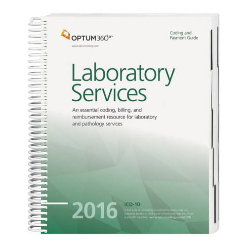 Coding and Payment Guide for Laboratory Services  2016. This guide has the latest 2016 specialty-specific ICD-10-CM, HCPCS Level II, and CPT® code sets along with Medicare payer information, CCI edits, helpful code descriptions, and clinical definitions.