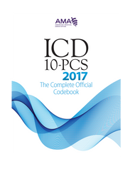 ICD-10-PCS 2017: The Complete Official Codebook contains the complete ICD-10-PCS code set and supplementary appendixes required for reporting inpatient procedures.