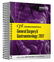 CPT® Coding Essentials optimizes both CPT and ICD-10 code selection with helpful CPT-to-ICD-10-CM crosswalks and detailed explanations of anatomy, physiology and documentation. In addition, for the first time in the same volume, verbatim guidelines and parenthetical information from the CPT codebook specific to general surgery and gastroenterology CPT codes can be found.