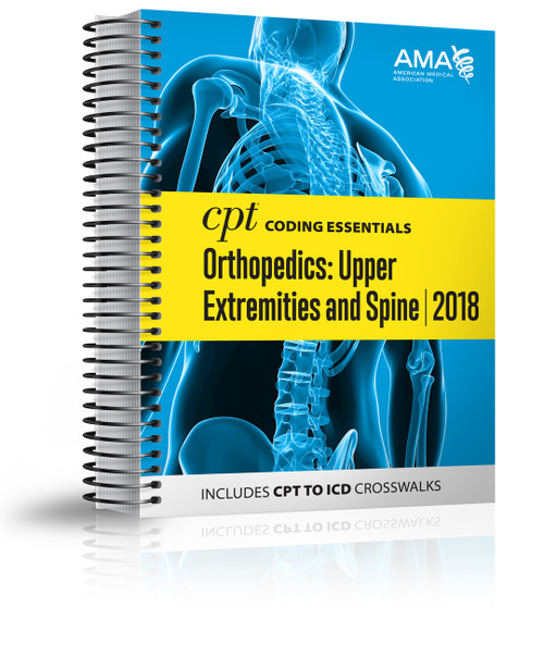 Optimized for medical necessity and reimbursement understanding, this all-in-one resource focuses on the most important CPT and HCPCS codes for upper extremity and spinal orthopedics, plus medicine and ancillary services codes chosen by experts who have taken into consideration utilization, denial risk and complexity