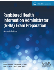 The seventh edition aligns with the RHIA exam refresh beginning 1/2/2018. Confidently prepare for the RHIA exam with Registered Health Information Administrator (RHIA) Exam Preparation.