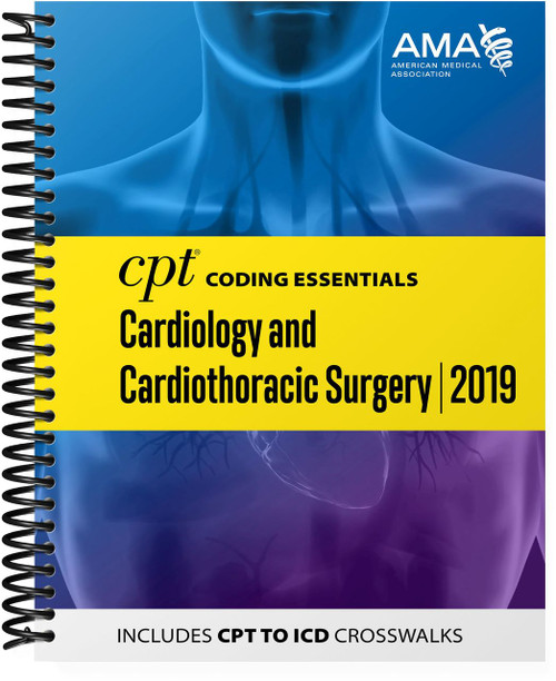 BOOK LIST AND ama-assn.org/partner-resources PRODUCT INFORMATION Optimized for medical necessity and reimbursement understanding, this all-in-one resource focuses on the most important CPT and HCPCS codes for cardiology and vascular surgery, plus medicine and ancillary services codes chosen by experts who