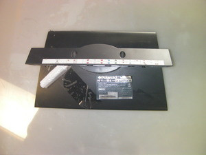 """POLAROID 26"""" TV STAND / BASE TDX-02610B (SCREWS NOT INCLUDED)"""