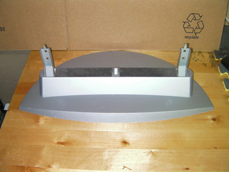SILVER TV STAND / BASE