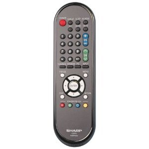 SHARP LC-60LE6300U REMOTE CONTROL PART# GA667WJSA