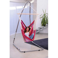 """This Steel Swing Stand adjusts from 78"""" to 94"""" high."""