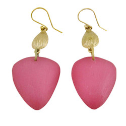 Strawberry Shape Earrings Pink