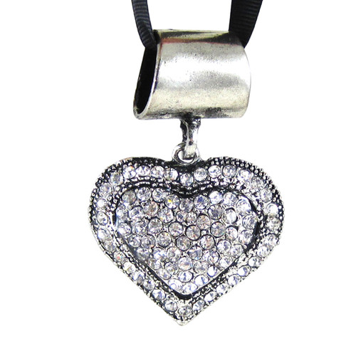 Heart Pendant Jewelry for Scarves